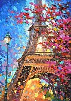 Париж картинки рисованные - 35 рисунков (32)