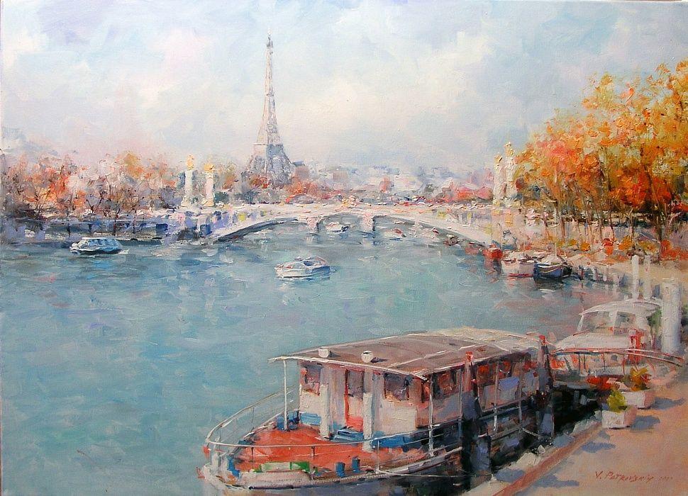 Париж картинки рисованные - 35 рисунков (6)