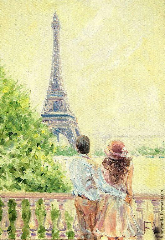 Париж картинки рисованные - 35 рисунков (9)