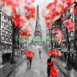 Париж рисованные картинки — подборка артов