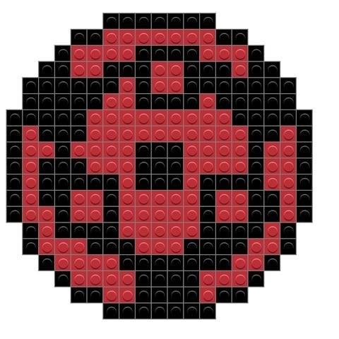 Пиксель арт шаринган018