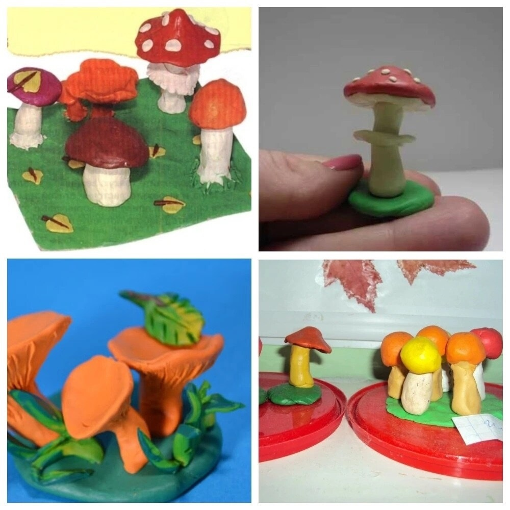 картинки из пластилина грибы дешевые авиабилеты самолет