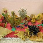 Поделка грибная полянка из пластилина для детей