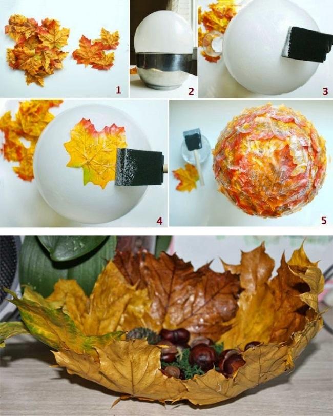 Поделки из кофе на тему осень015