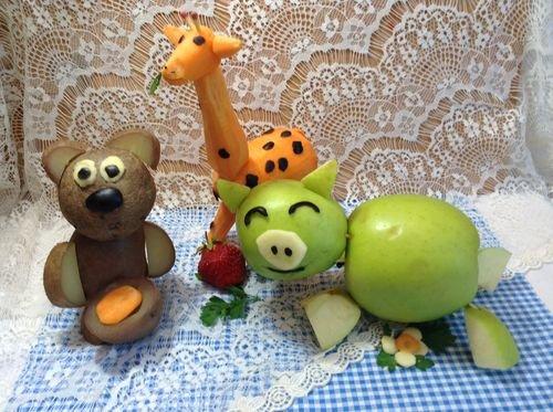 Поделки из овощей для школы 4 класс - фото самые красивые (10)