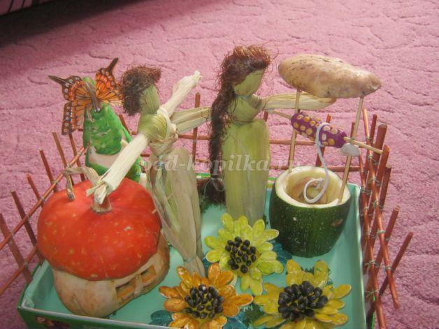 Поделки из овощей для школы 4 класс - фото самые красивые (12)