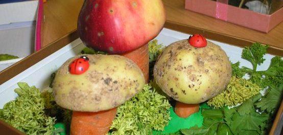 Поделки из овощей для школы 4 класс - фото самые красивые (26)