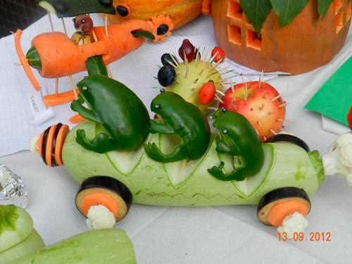 Поделки из овощей для школы 4 класс - фото самые красивые (34)