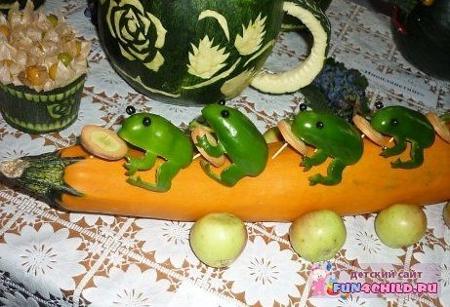 Поделки из овощей для школы 4 класс - фото самые красивые (35)