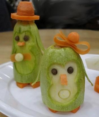 Поделки из овощей для школы 4 класс - фото самые красивые (6)