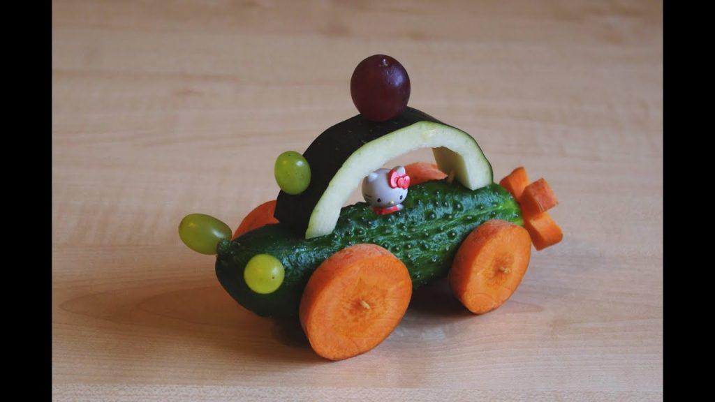 Поделки из овощей для школы 4 класс - фото самые красивые (9)