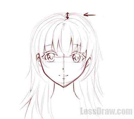 Подробные туториалы аниме глаз (6)