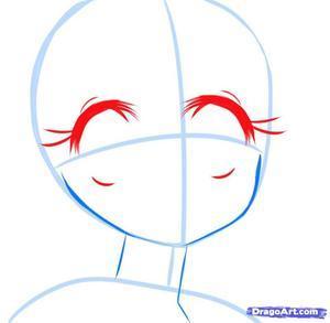 Подробные туториалы аниме глаз (7)