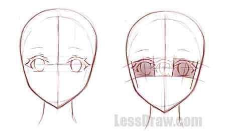 Подробные туториалы аниме глаз (9)
