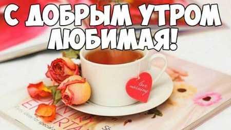 Пожелания с добрым утром в картинках любимой девушке (16)