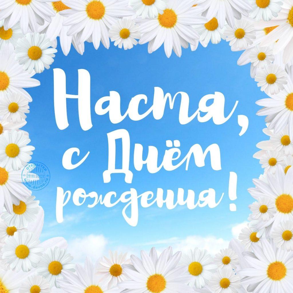 Поздравления с днем рождения Настя019
