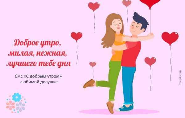Поздравления с добрым утром любимой девушке в картинках (14)