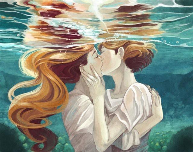Поцелуй картинки арт010