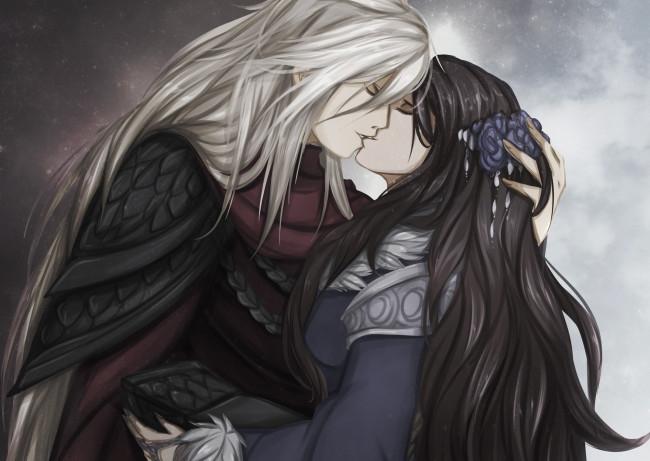 Поцелуй картинки арт014