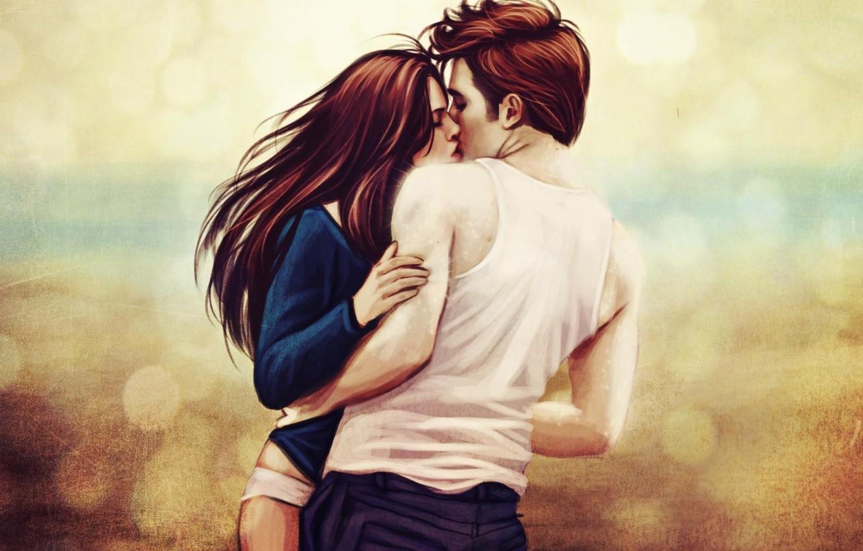 Поцелуй картинки арт022