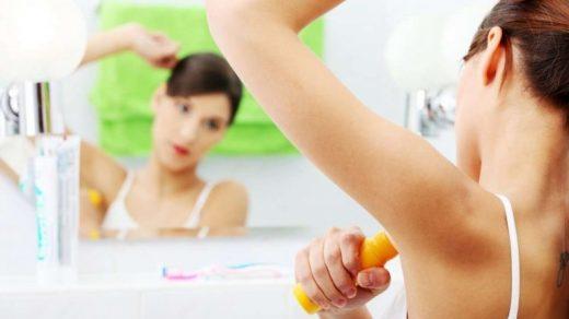 Почему дезодорант не работает