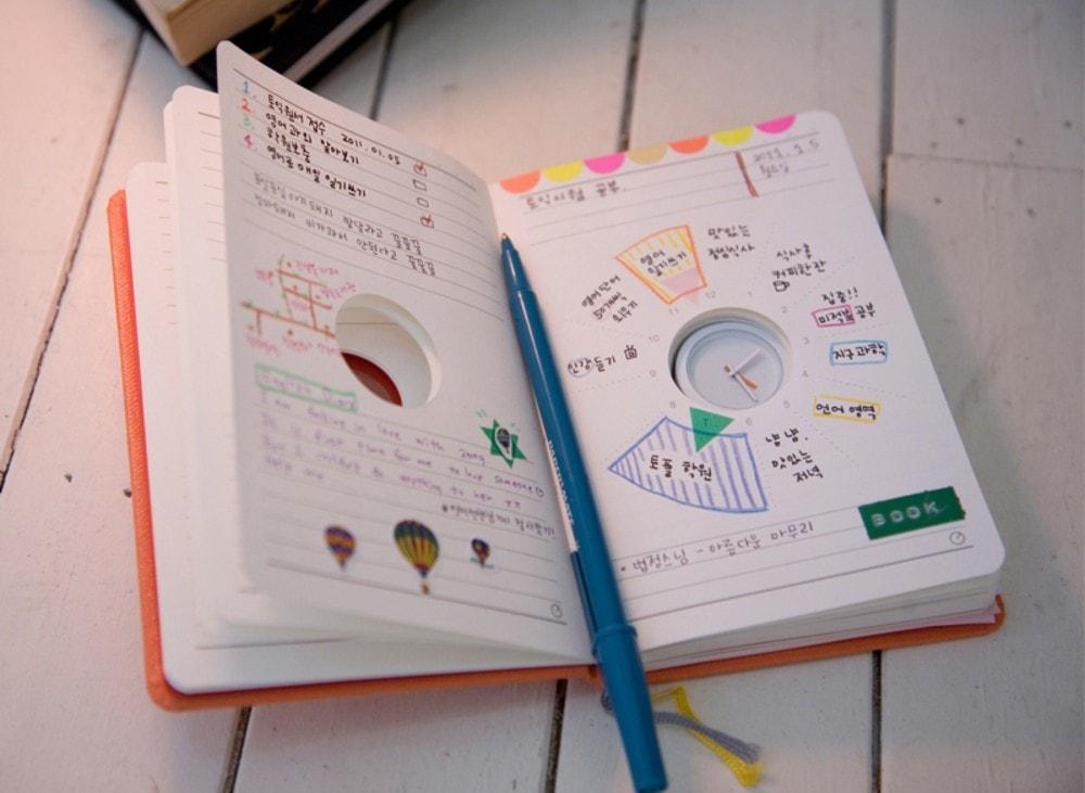 Прикольное оформление личного дневника внутри - фото (2)