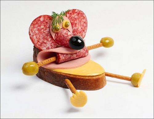 Прикольные картинки бутербродов - 22 фото (1)