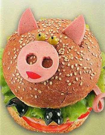 Прикольные картинки бутербродов - 22 фото (11)