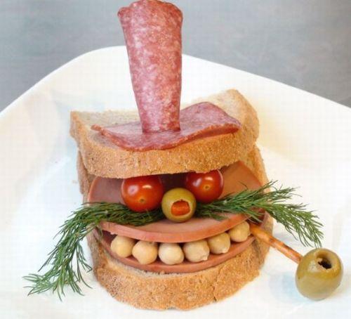 Прикольные картинки бутербродов - 22 фото (12)
