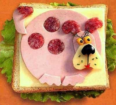 Прикольные картинки бутербродов - 22 фото (15)