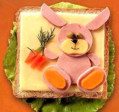 Прикольные картинки бутербродов - 22 фото (2)