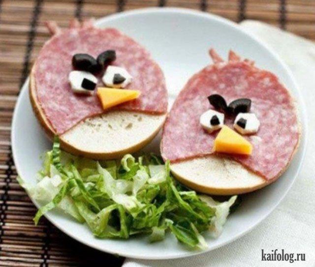 Прикольные картинки бутербродов - 22 фото (25)