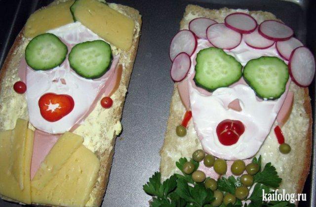 Прикольные картинки бутербродов - 22 фото (26)