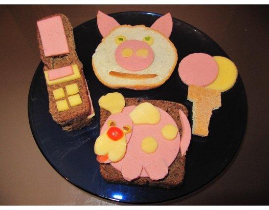 Прикольные картинки бутербродов - 22 фото (7)