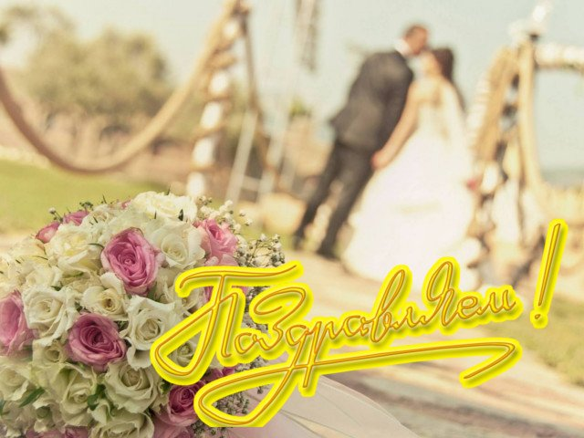 Прикольные картинки для молодоженов со свадьбой (2)
