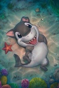 Прикольные картинки нарисованные рыбы006
