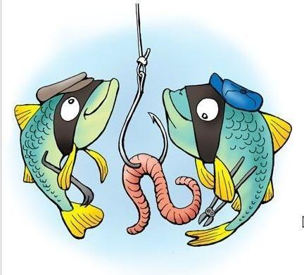Прикольные картинки нарисованные рыбы007