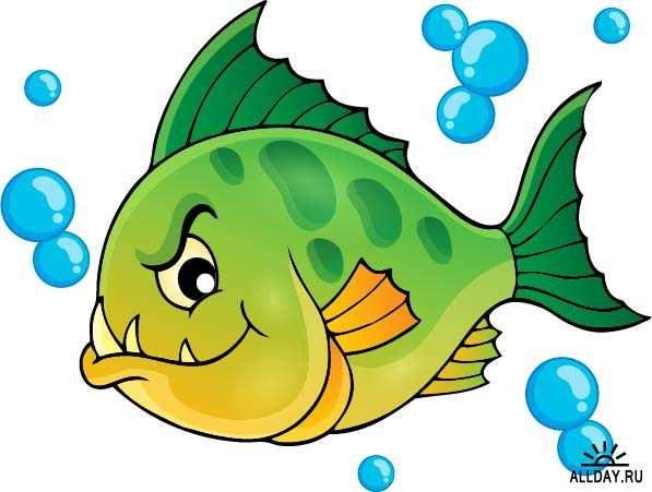 Прикольные картинки нарисованные рыбы013