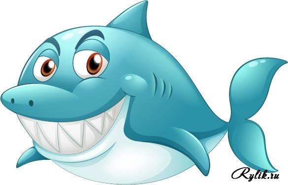 Прикольные картинки нарисованные рыбы020
