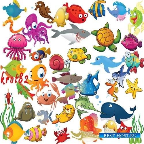 Прикольные картинки нарисованные рыбы023