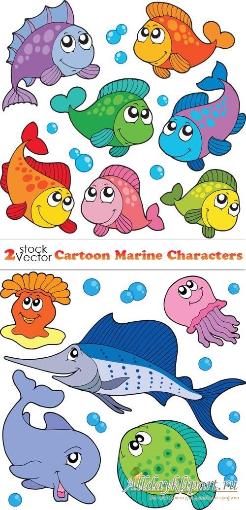 Прикольные картинки нарисованные рыбы024
