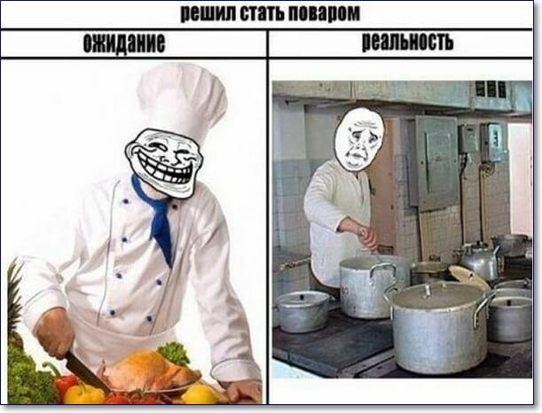 Прикольные картинки про поваров - 20 фото (1)