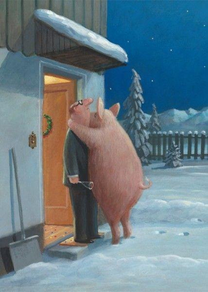 Прикольные картинки про свиней - 32 фото (16)