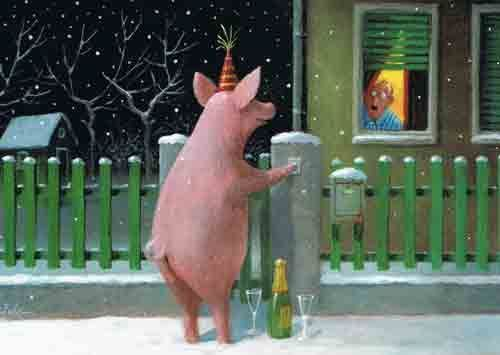 Прикольные картинки про свиней - 32 фото (28)