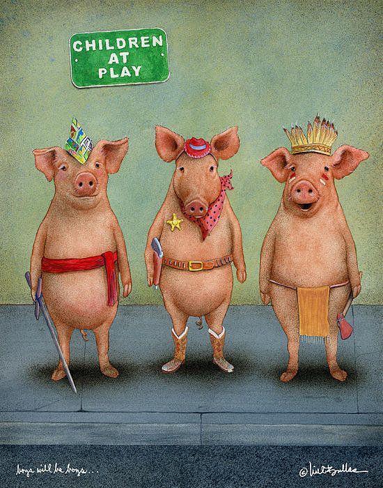 Прикольные картинки про свиней - 32 фото (3)