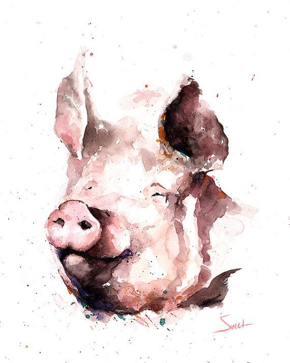 Прикольные картинки про свиней - 32 фото (6)