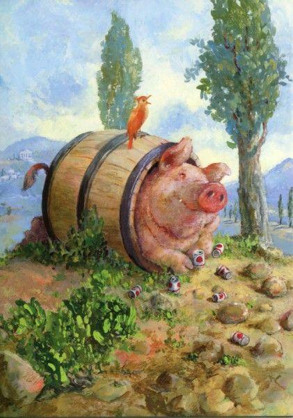 Прикольные картинки про свиней - 32 фото (9)