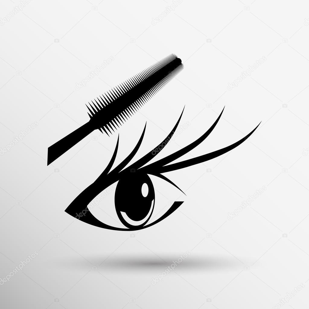 Прикольные картинки ресниц нарисованные (11)
