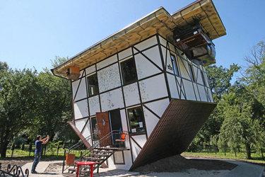 Прикольные картинки смешных домов (11)