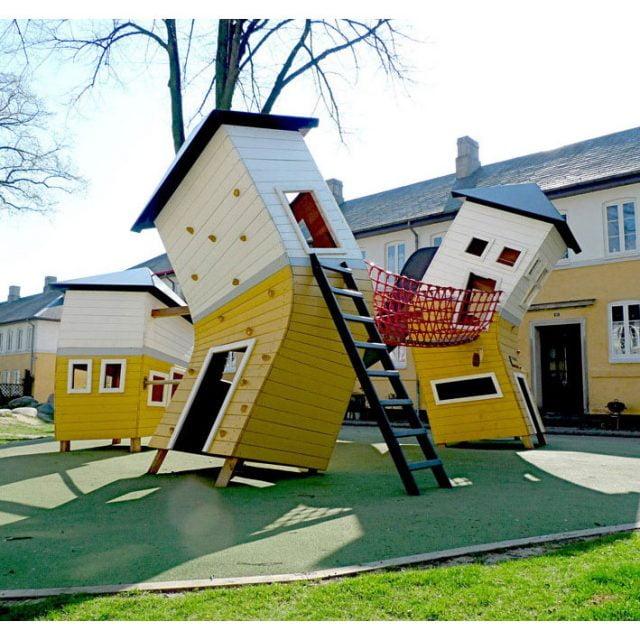 Прикольные картинки смешных домов (16)
